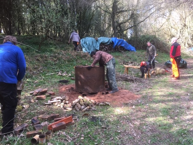 Managing the restoration of the 1892 Hazel Coppice